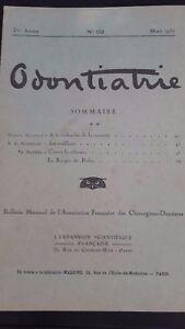 Revista-Mensual-Odontiatrie-N-69-7-Eme-Annee-1930-ABE