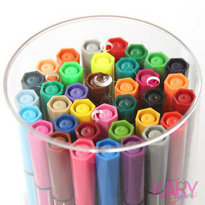 Water Color Pen Marker 36 colour Scrapbooking Painting Drawing art Supplies Tool