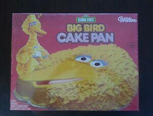Big Bird Cake Pan Instructions