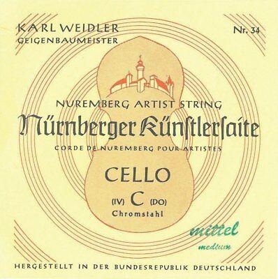 Cello Parts Zubehörset   4 Saitenstifte Saitenhalter und Schwanzdarm