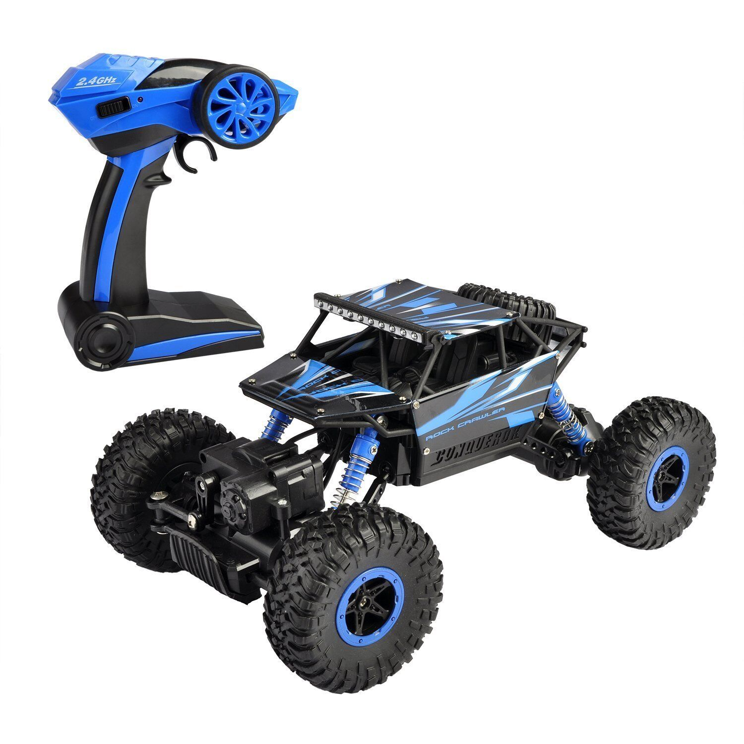 RC 18 1 High 4WD 2 4Ghz Vehicle Road Remote Speed bluee