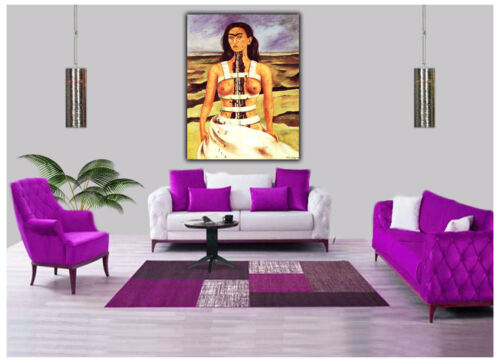 THE BROKEN COLUMN  REPRINT ON FRAMED CANVAS WALL ART DECORATION