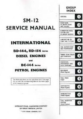International Motor bd144 bd154 Bc144 Manual De Taller