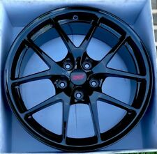 Subaru Sti Oem Wheel Rim Factory Oem Black 18 18x85 55 5x1143 1x Rim
