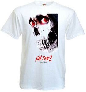 Evil Dead 2 v.10 T shirt black movie poster horror all sizes S-5XL