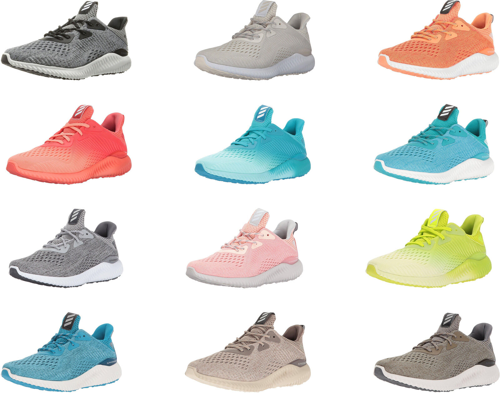 adidas Women's Alphabounce EM W Running Shoes, 12 Colors