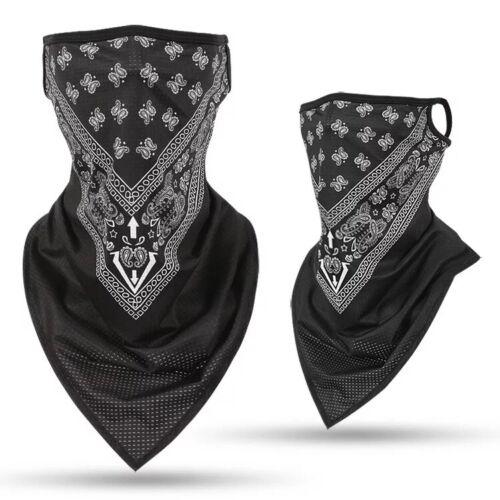 Cooling Neck Gaiter Face Mask Scarf Sun Protection Headwrap Bandana Multi Use