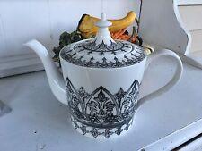 NEW STECHCOL GRACIE CHINA MOROCCAN PRINT TEA POT VERY PRETTY