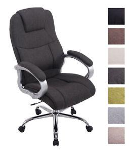 xl b rostuhl apoll stoff 150 kg belastbar chefsessel. Black Bedroom Furniture Sets. Home Design Ideas
