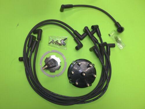 Mercruiser Spark Plug Wires Distributor Cap Ignition Rotor V6 4.3 L 262 1985-96