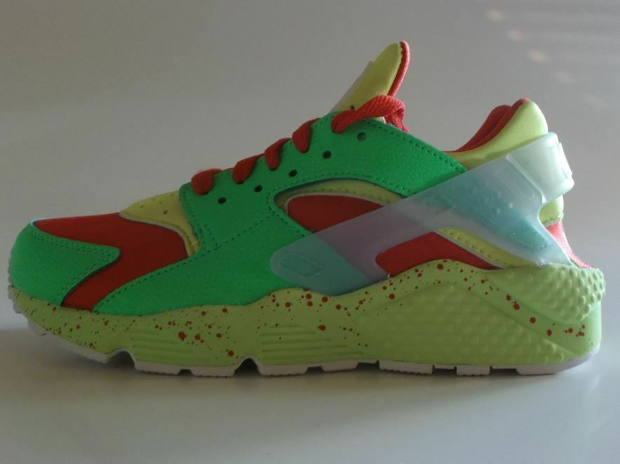 Nuevo    Nike Air huarache run ID talla 38,5 rojo VT verde voltios 777330 994 una pieza única  Ahorre hasta un 70% de descuento.