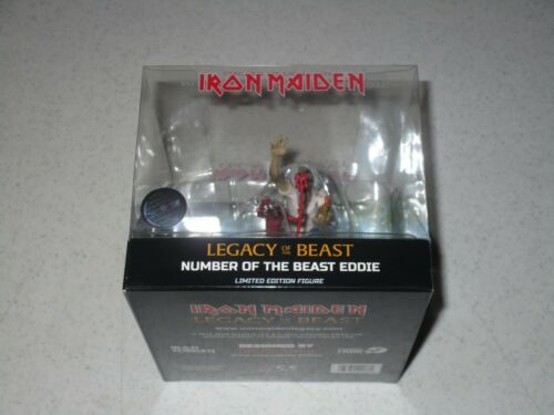 Iron Maiden Legacy of the Beast Number of the Beast Eddie Vinyl Figure SEALED