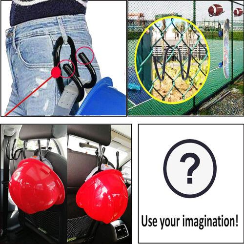 Fence Hooks for Baseball//Softball Equipment,Bat Bags,Tennis Bags,Water Bottle