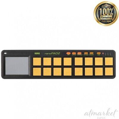 Musical Instruments & Gear Candid Korg Usb Midi Controller Nanopad2-orgr Nano Pad 2 Orange & Grün Japan Neu Ample Supply And Prompt Delivery Audio/midi Interfaces