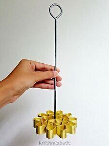 Brass Thai Dessert Cuisine Moule Lotus DOK JOK Maker Cookies 9 cm Press Fleur