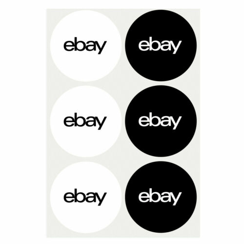 """200 pcs of 2-Color Round Branded Sticker  stickers  labels  3"""" x 3"""" new"""