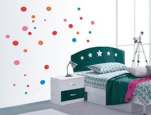 Parete A Pois Fai Da Te : A pois vinile adesivi da parete bambini decorazioni adesive