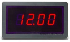 *USA* 3½ 5v Voltmeter Digital Red LED 0~20V DC Volt Panel Meter