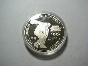 1983-S-PROOF-Olympic-Silver-Dollar-lt-gt-Low-Mintage-lt-gt-Distribution-174-014
