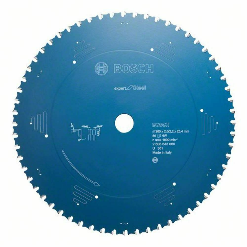 Bosch Kreissägeblatt Expert for Steel. 210 x 30 x 2.0 mm. 48