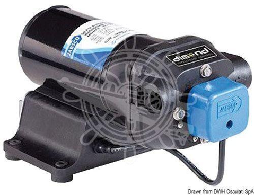 FLOJET Jabsco Autoklav V-FLO 5 12 V 19 l 2.75 bar bar 2.75 c3f7bd