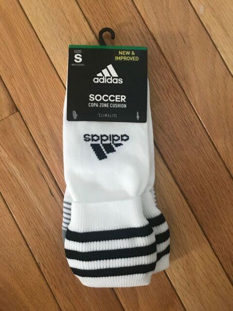 5449a530d adidas Copa Zone Cushion III OTC Soccer Socks Size S White Climalite