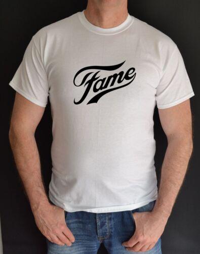 FAME,80S TV FILM,FANCY DRESS,HEN /& STAG,UNISEX FUNT SHIRT