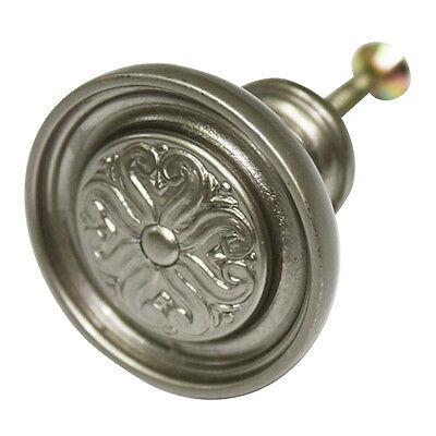 Lovely Silver 35mm Metal Knob Furniture Dresser Drawer Kitchen Door Pulls AAE-17