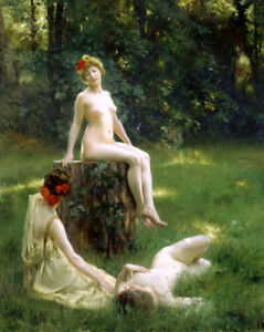 In women the forest naked Nude in
