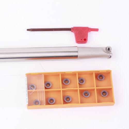 10PCS RPMT08T2MOE-BJ SBP5351 Indexable milling cutter 1PCS EMR C16-4R17-150