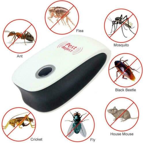 Ultrasonic Pest Repeller Control Electronic Repellent Mice Rat Ant Bugs Reject