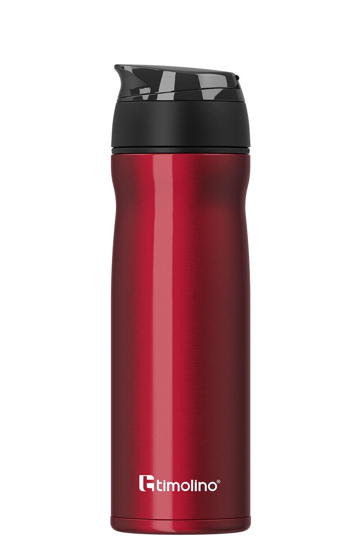 Trinkflasche Edelstahl Thermobecher mit Teesieb Sportflasche DE-Trend kg