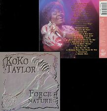KOKO TAYLOR  force of nature  + BUDDY GUY , CAREY BELL