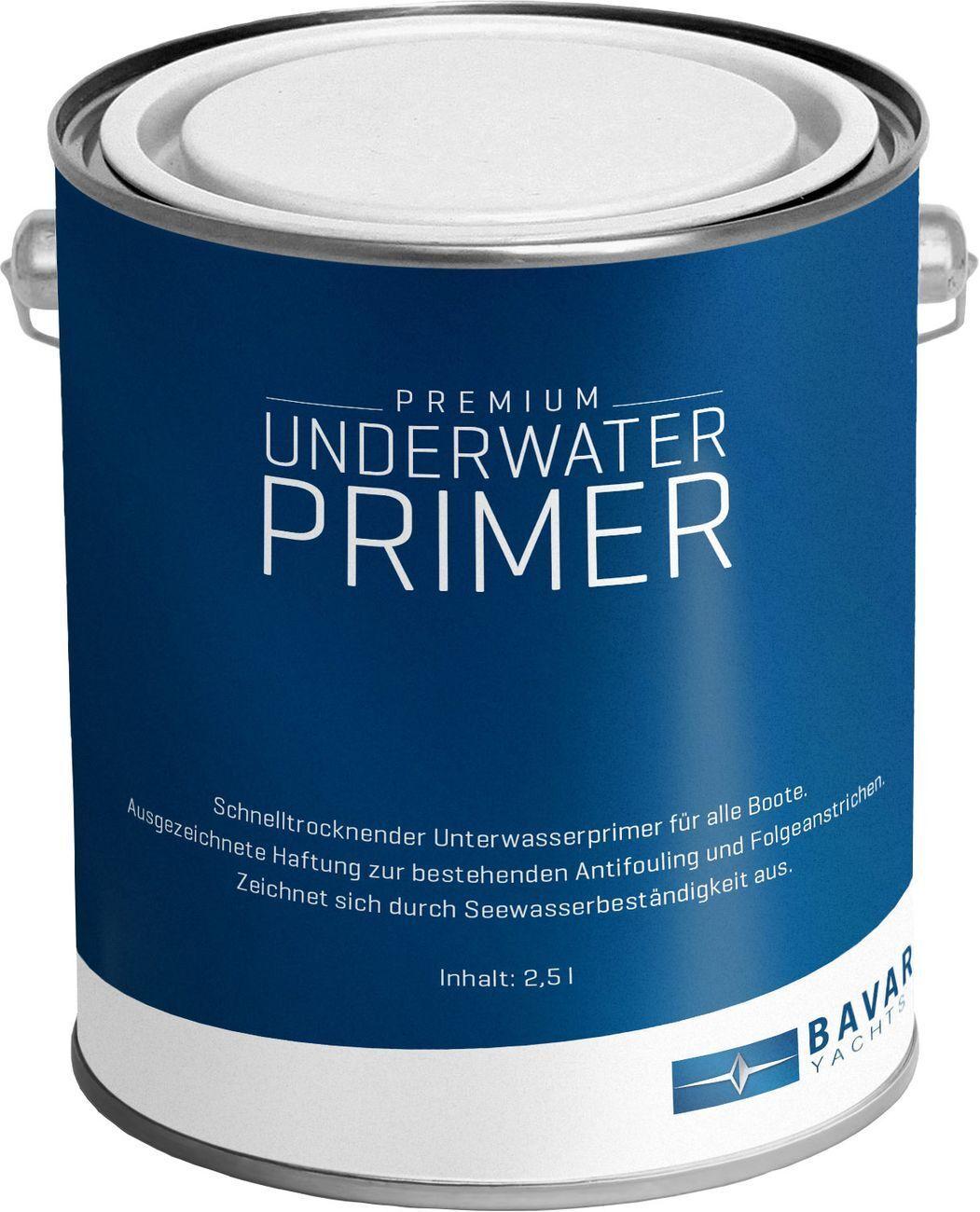 Bavaria Premium Unterwasser Primer Grau 2,5 Liter Liter 2,5 Unterwasseranstrich Osmose 109aa6
