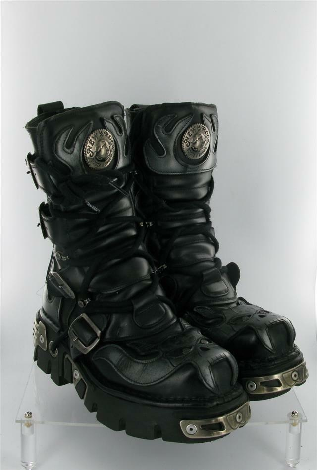NEW ANATOMICAL ROCK REACTOR BOOTS 4 STRAPS ZIP ANATOMICAL NEW SOLE SIZE 5 UK 6c3a42