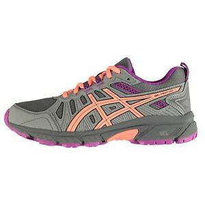 new product 7244b 127ac Details about Asics Kids Girls Venture 7 JnGl94 Trail Running Shoes