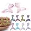 10-Pcs-Mixed-Tiny-Mermaid-Glitter-Fish-Tail-Charm-With-Hook-Resin-Flatback-DIY thumbnail 1