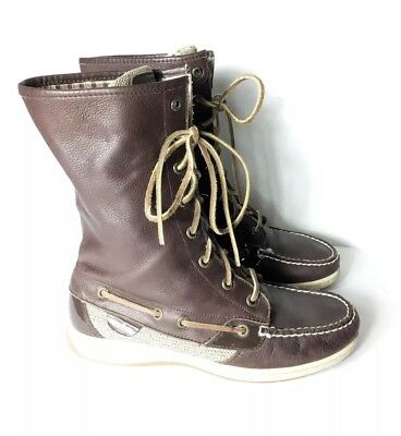 Sperry 7 Top Sider Brown Leather
