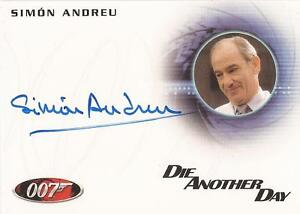 James-Bond-50th-Anniversary-A181-Simon-Andreu-034-Dr-Alvarez-034-Autograph-Card