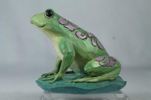 Jim Shore /'Frog/' Beautiful 2020 Mini Collection #6006448 New In Box!