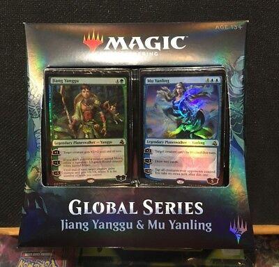 Global Series Jiang Yanggu /& Mu Yanling MTG Sellado Sealed Ingles