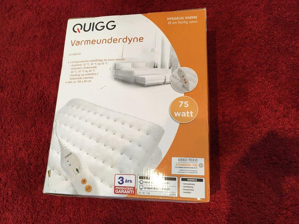 Andet, Quigg Varmeunderdyne