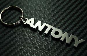 Antony-nombre-personalizado-llavero-a-medida-Acero-Inoxidable-Regalo