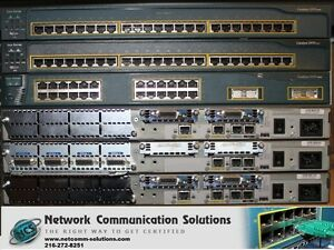 Details about BEST CISCO CCNA CCNP LAB 2x 2950 1x 3550 Switch 2x 2611 1x  2620XM Router SDM CME