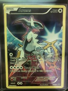 FULL ART Arceus ULTRA RARE Pokemon XY116 Black Star Promo