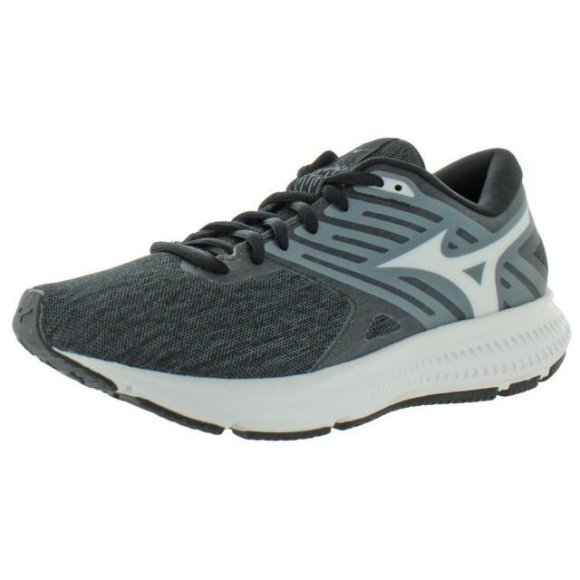 Mizuno Womens Ezrun LX 2 Black Traienrs Running Shoes 7 Medium (B,M) BHFO 8408