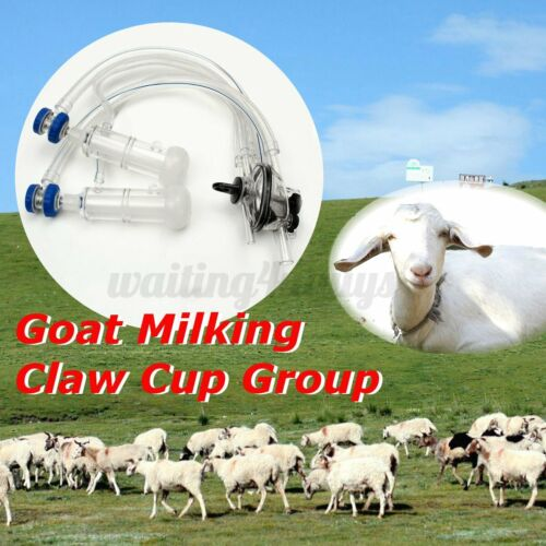 Goat Sheep Milker Machine Parts Milker Claw Milking Liners Goat Milking  USA #
