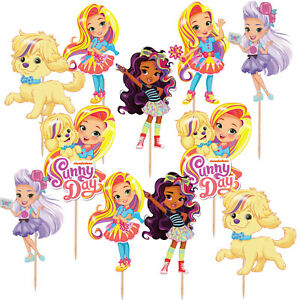 SUNNY-DAY-CUPCAKE-CAKE-TOPPER-DECORATION-PARTY-SUPPLIES-BALLOON-BANNER-CUP