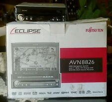 "Eclipse Fujitzu Ten AVN8826 HDD Navigation System with 7"" Wide TFT Display"