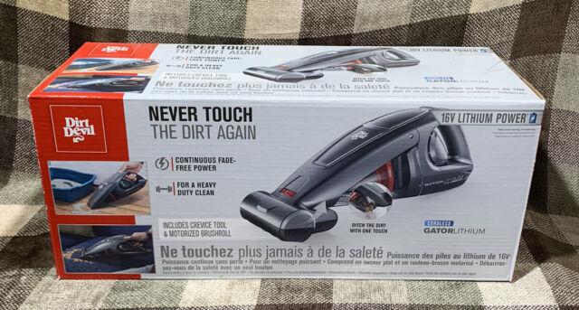 Gator Lithium 16v Hand Vacuum